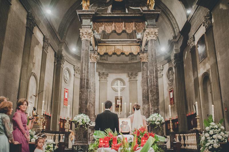 Boda en María Reina de Pedralbes