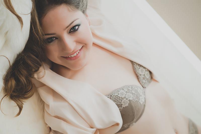 sesión de boudoir
