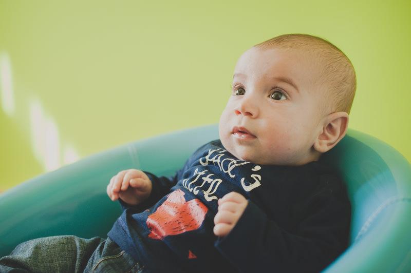 sesión de bebé Eric