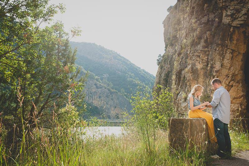 fotos preboda en el lago