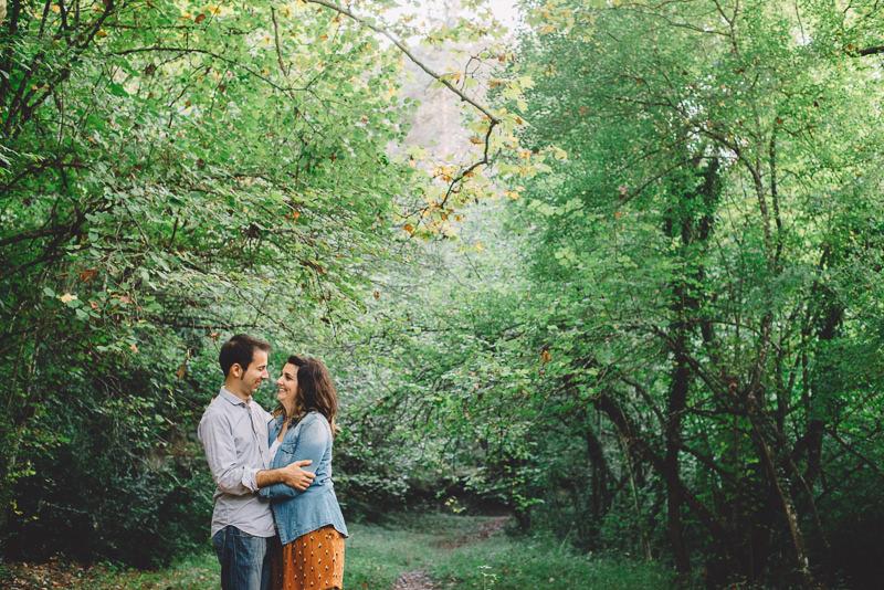 preboda en el bosque
