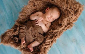 Èric, 8 días... sesión de newborn