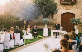 Tu i jo...Roberto+Àngels, boda al Palau de Margalef