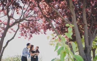 Maribel+David=Toni... sesión familiar